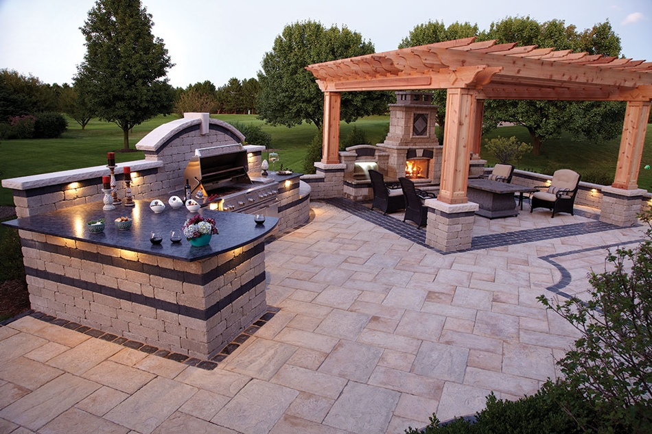 18 Outdoor Kitchen Ideas For Backyards - MeCraftsman : outdoors kitchen - amorenlinea.org