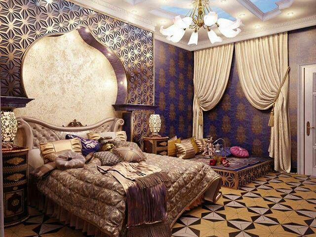 Attrayant 19 Moroccan Bedroom Decoration Ideas