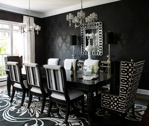 20 Home Decor Ideas With Black & White Contrast