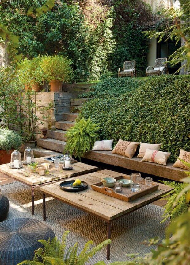 21 Cozy Backyard Seating Ideas