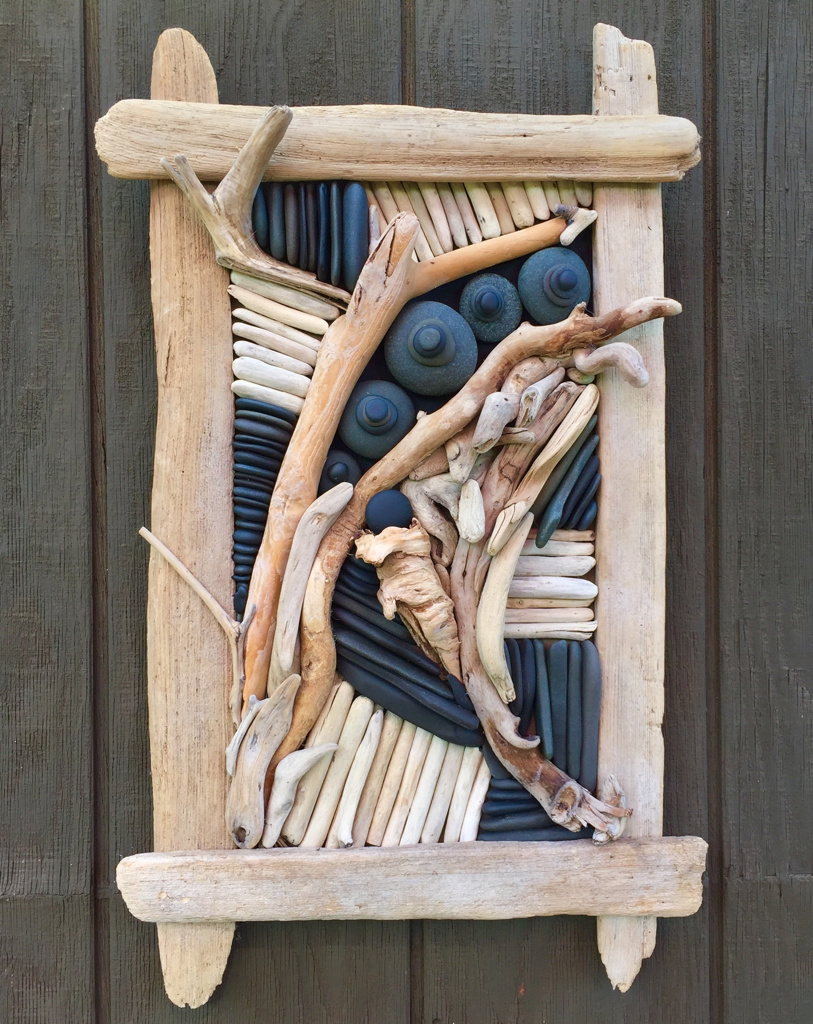 Diy driftwood projects jewelry rack mecraftsman for Driftwood crafts to make