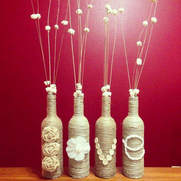 19 Diy Wine Bottle Crafts Make Art From Emptiness Mecraftsman