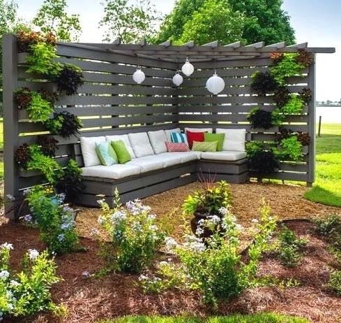 21 cozy backyard seating ideas mecraftsman - Backyard patio design ideas to accompany your tea time ...