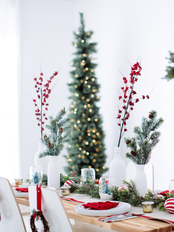16 Most Inspiring Christmas Table Designs