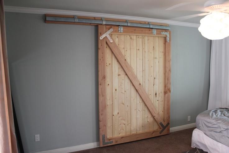 12 Diy Barn Door Ideas   MeCraftsman