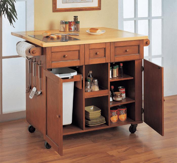 Important Space saving kitchen island ideas