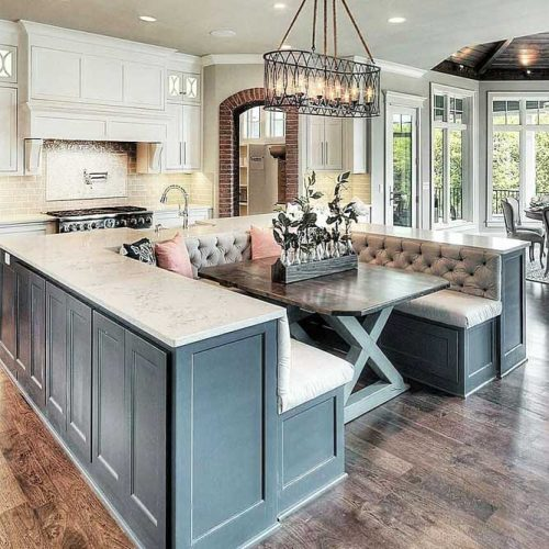 Small Kitchen Table Ideas Space Saving Bench Seat