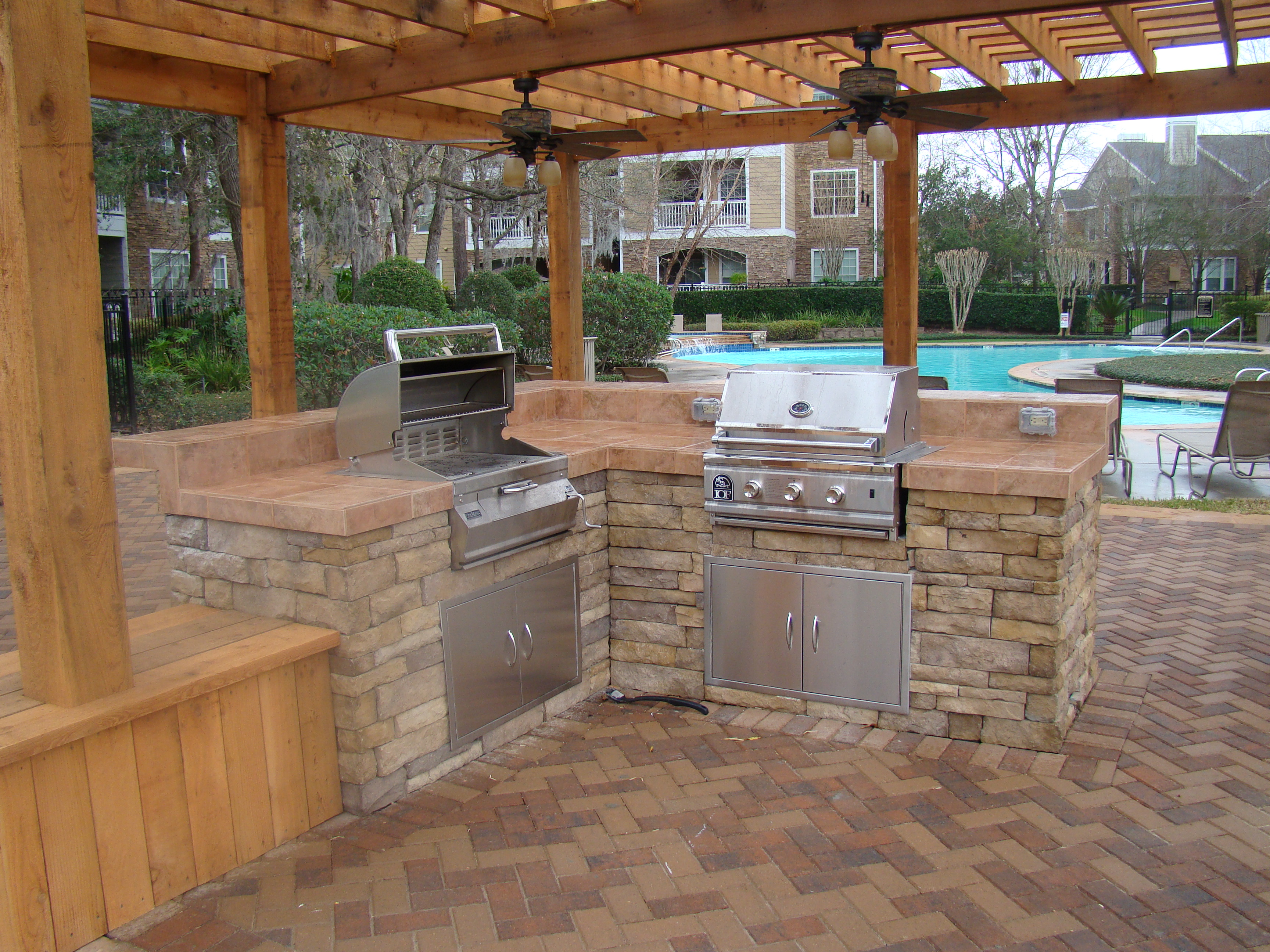 outside kitchen design ideas 18 outdoor kitchen ideas for backyards mecraftsman 21175