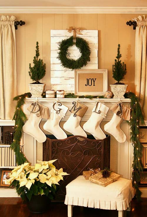 24 Christmas Fireplace Decorations, Know That You Should Not Do