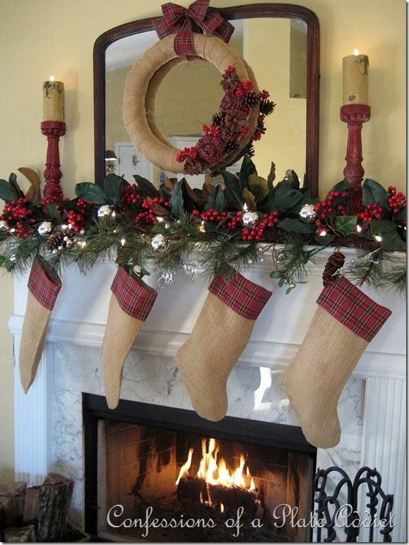 24 Christmas Fireplace Decorations, Know That You Should ...