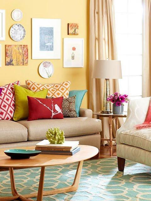22 Colorful Home Decoration Ideas