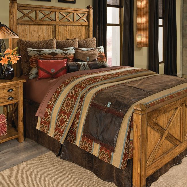 16 western style home decoration mecraftsman 13809 | western home decor bedroom ideas