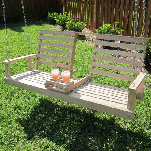 Garden Swing Bench Ideas