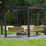 Garden Swing Bench Ideas