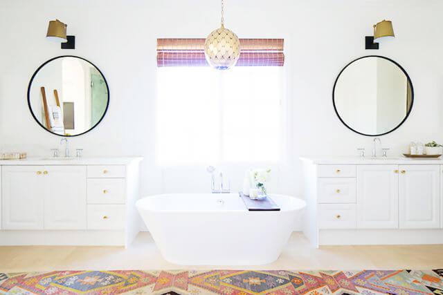 Easy Bathroom Mirror Frame Ideas